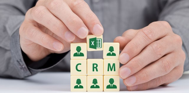 excel vs crm